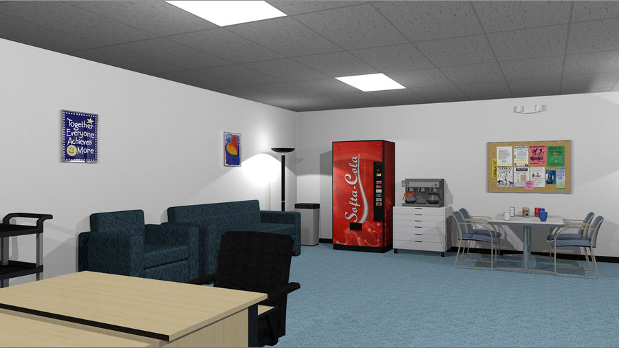 Collezione Mega Office! royalty-free 3d model - Preview no. 9