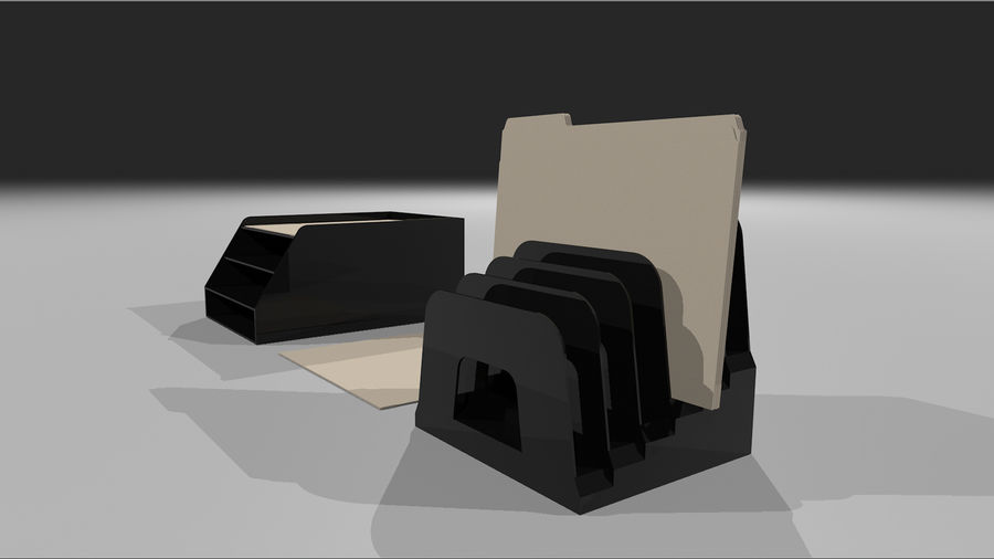 Collezione Mega Office! royalty-free 3d model - Preview no. 45