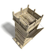 Siege Tower 3d model