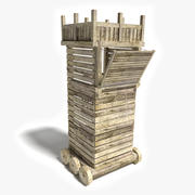 Siege Tower 3d model