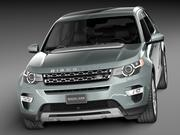 Land Rover Discovery Sport 2015 3d model