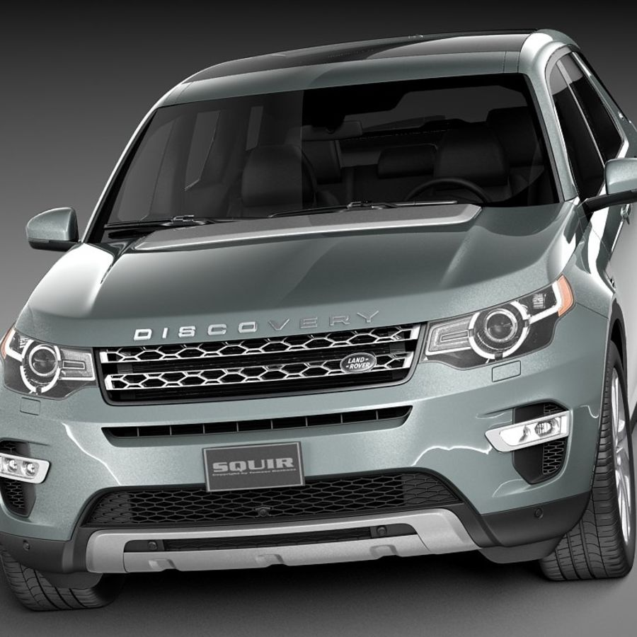 Land Rover Discovery Sport 2015 3D Model $129