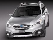 Subaru Outback 2015 3d model