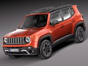 Jeep Renegade 2015 3d model