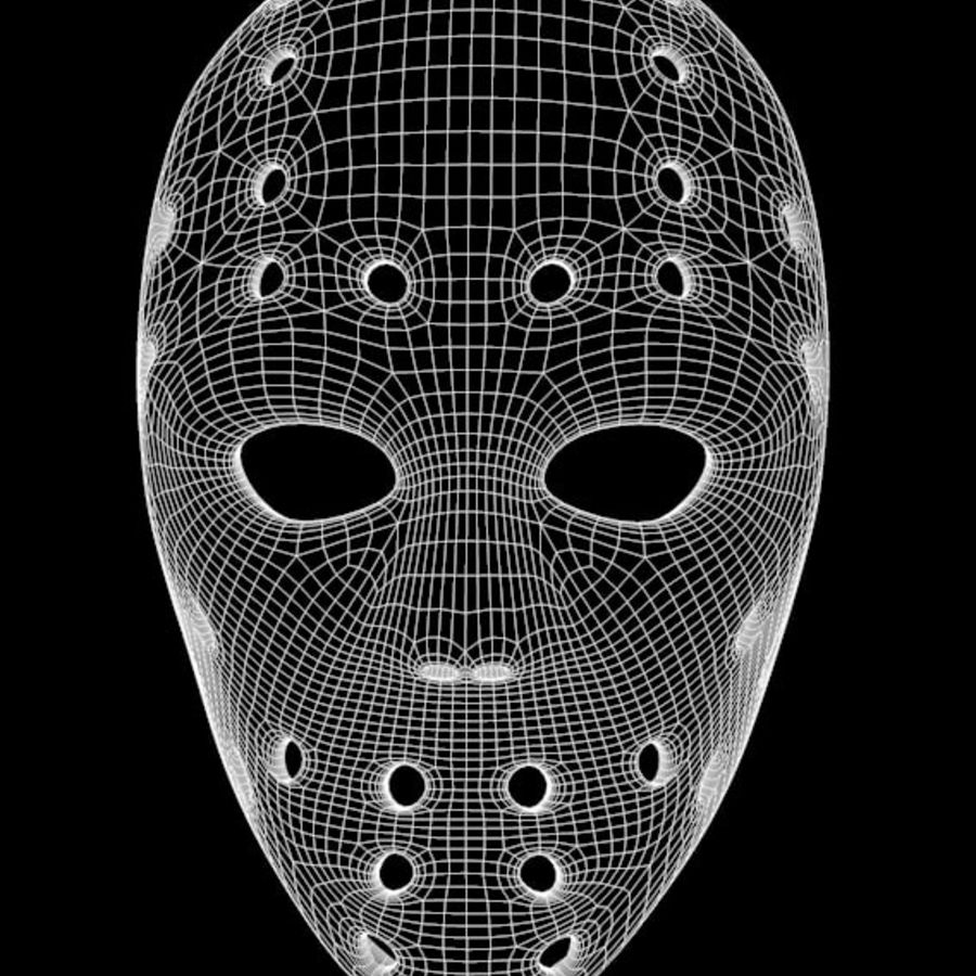 Masque 3 royalty-free 3d model - Preview no. 7