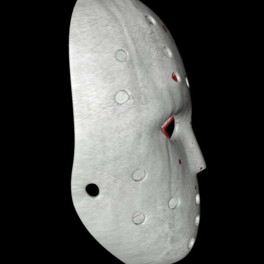 Masque 3 royalty-free 3d model - Preview no. 4