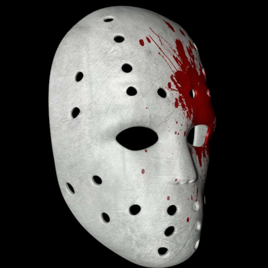 Masque 3 royalty-free 3d model - Preview no. 3