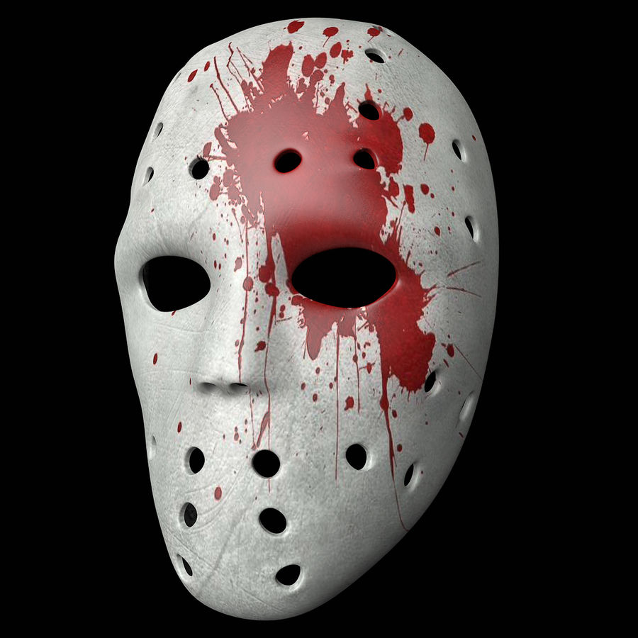 Masque 3 royalty-free 3d model - Preview no. 1