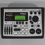 电子鼓模块:Roland TD8 V-Drums 3d model