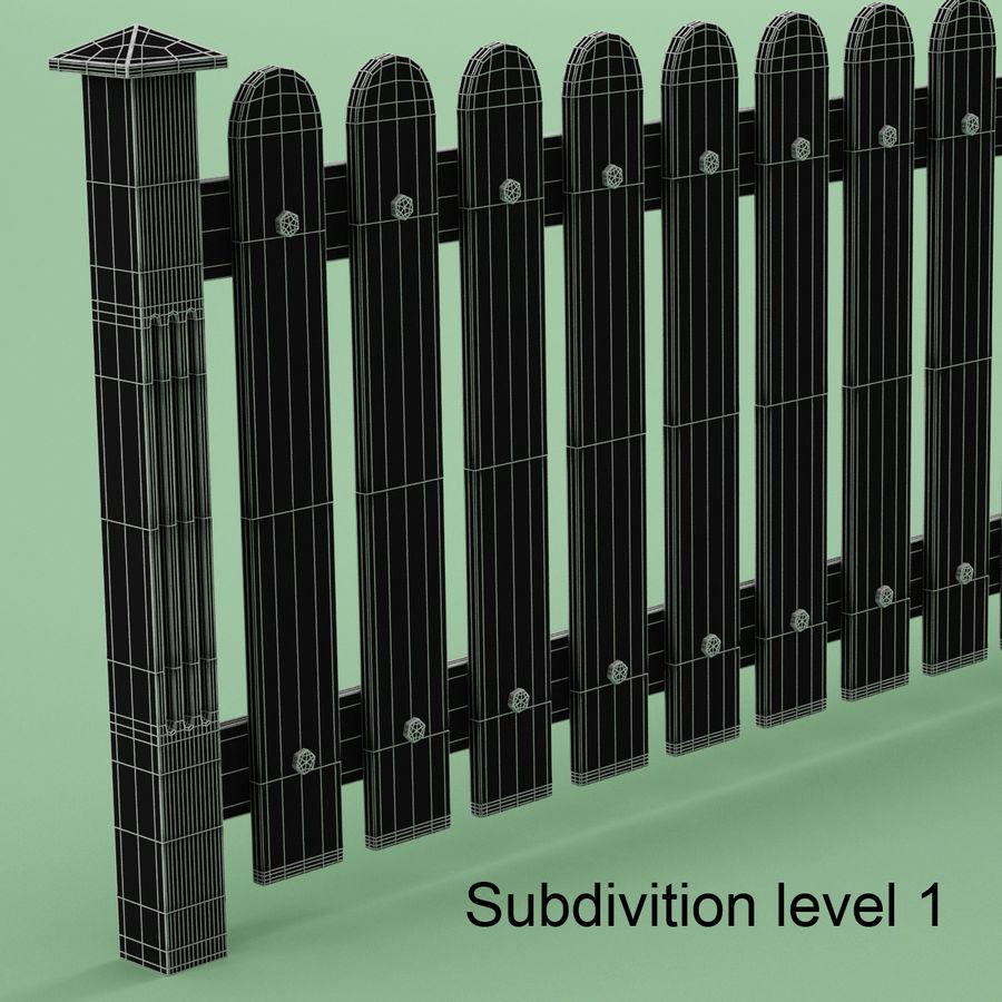 木围栏 royalty-free 3d model - Preview no. 7