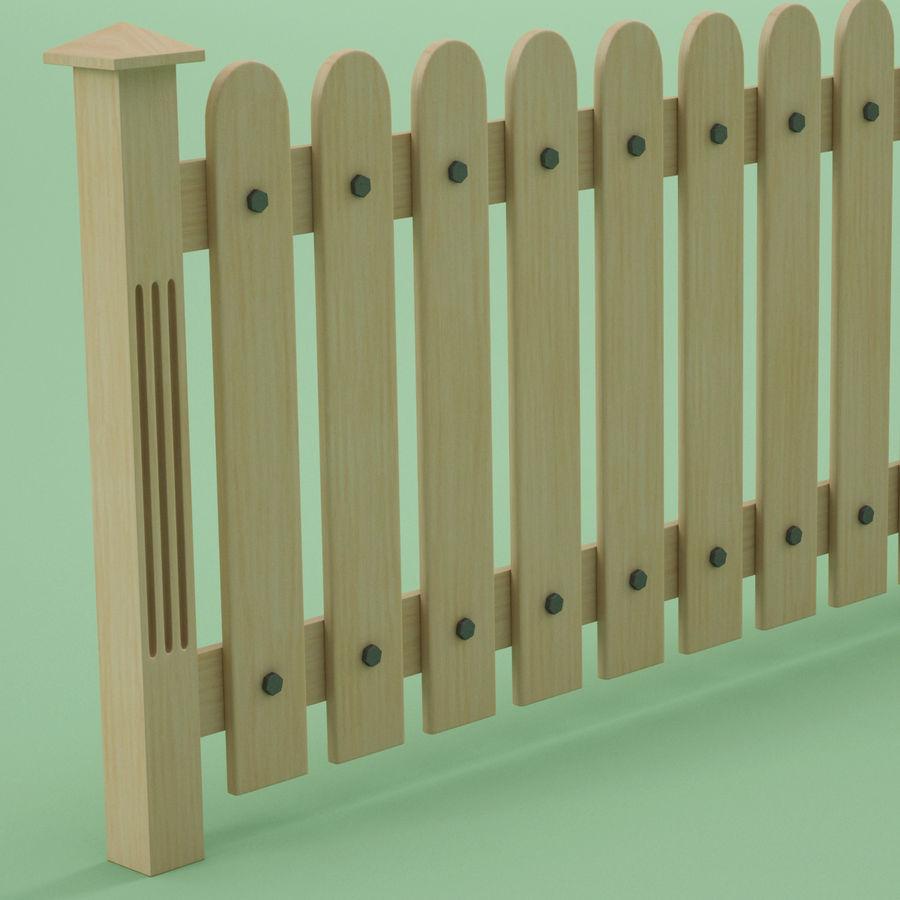 木围栏 royalty-free 3d model - Preview no. 5