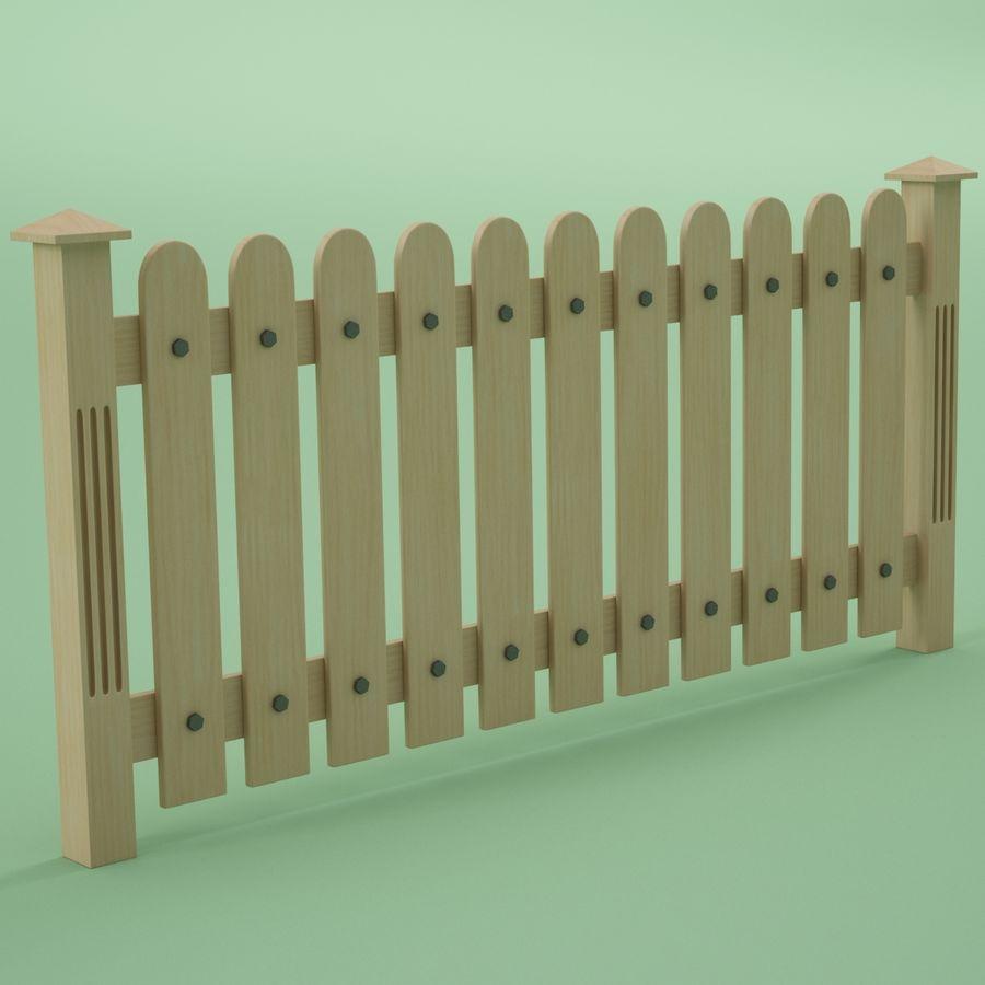 木围栏 royalty-free 3d model - Preview no. 1