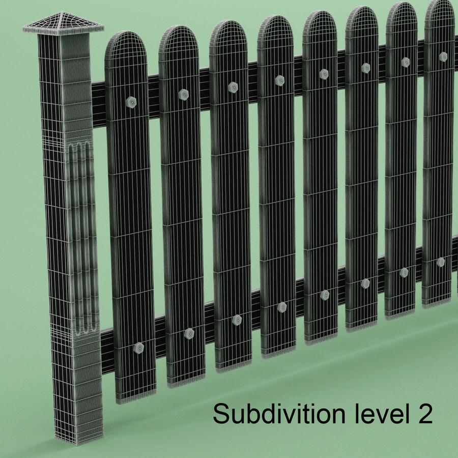 木围栏 royalty-free 3d model - Preview no. 8
