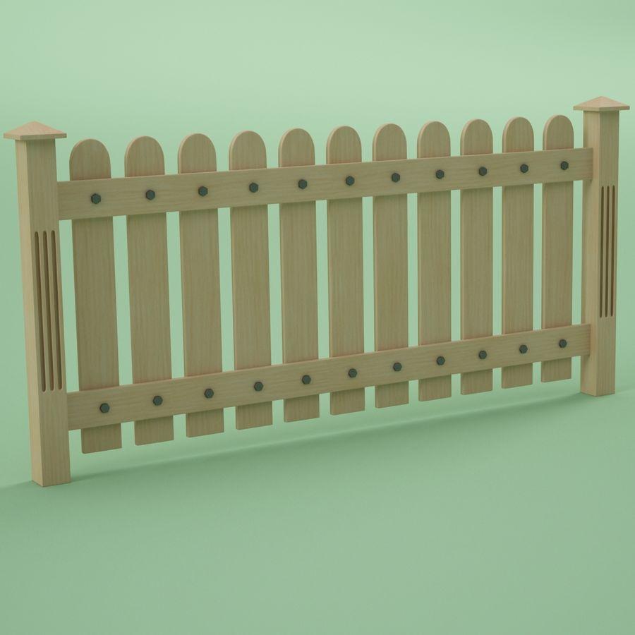 木围栏 royalty-free 3d model - Preview no. 3