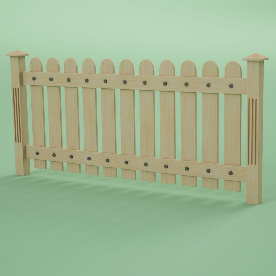木围栏 royalty-free 3d model - Preview no. 4