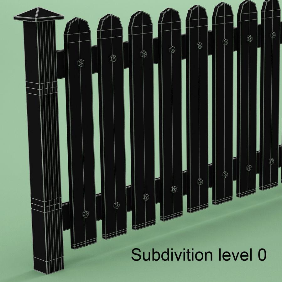 木围栏 royalty-free 3d model - Preview no. 6