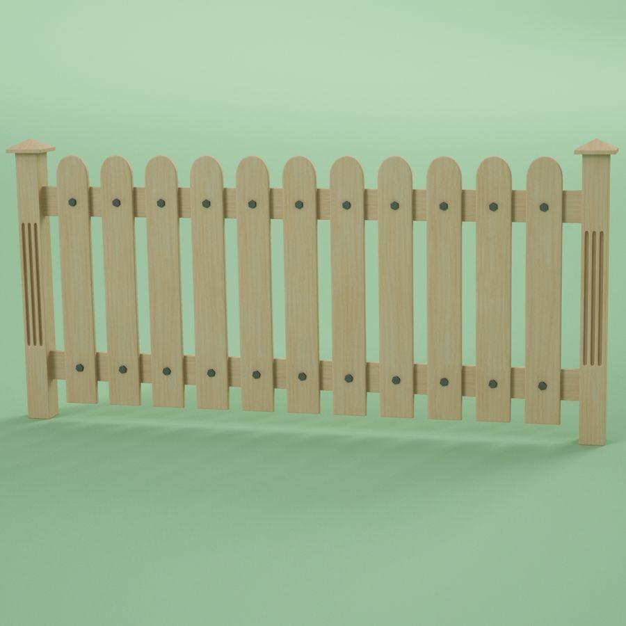 木围栏 royalty-free 3d model - Preview no. 2