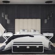 Chambre élégante 3d model