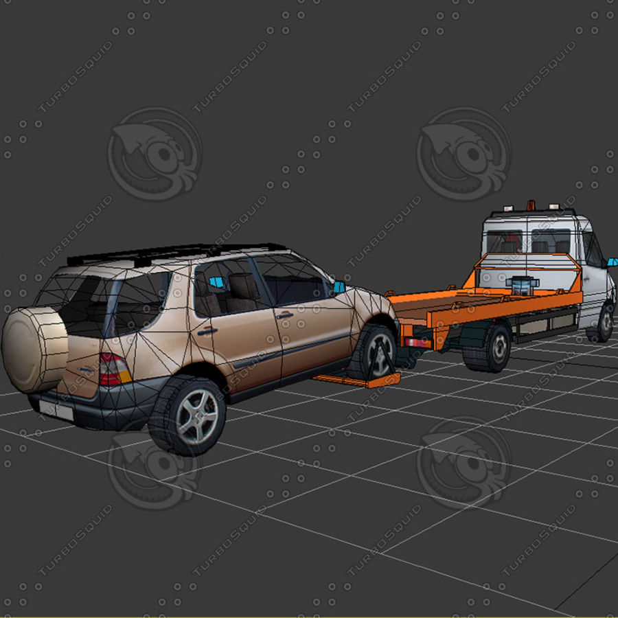 Car_Environment05 royalty-free 3d model - Preview no. 26