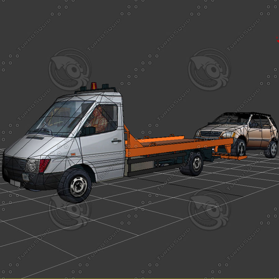 Car_Environment05 royalty-free 3d model - Preview no. 24