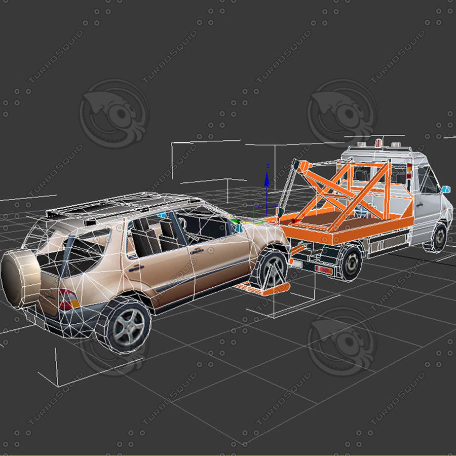 Car_Environment05 royalty-free 3d model - Preview no. 18