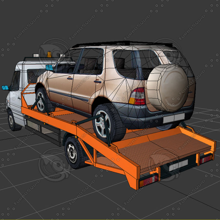 Car_Environment05 royalty-free 3d model - Preview no. 21
