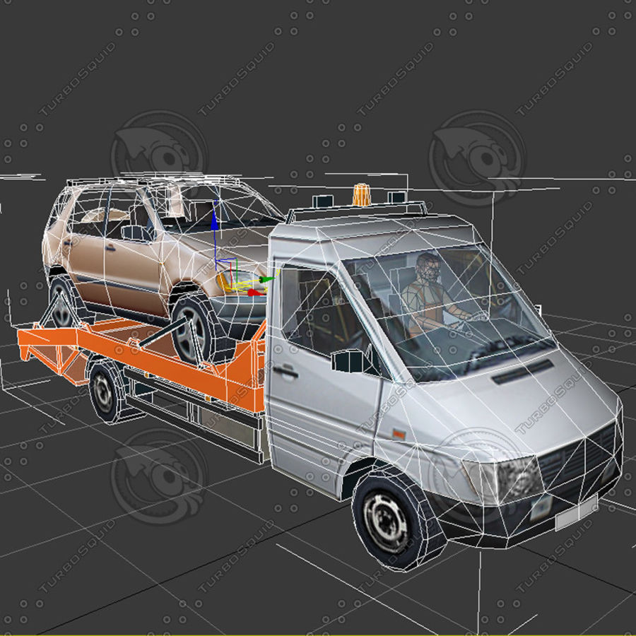 Car_Environment05 royalty-free 3d model - Preview no. 19