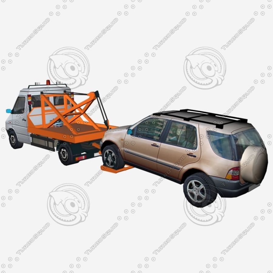 Car_Environment05 royalty-free 3d model - Preview no. 6