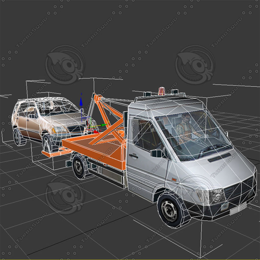 Car_Environment05 royalty-free 3d model - Preview no. 16