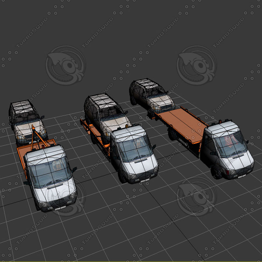 Car_Environment05 royalty-free 3d model - Preview no. 27