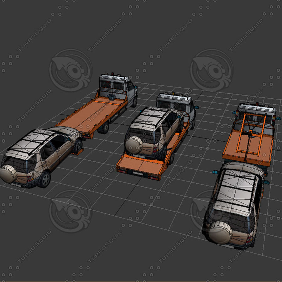 Car_Environment05 royalty-free 3d model - Preview no. 28