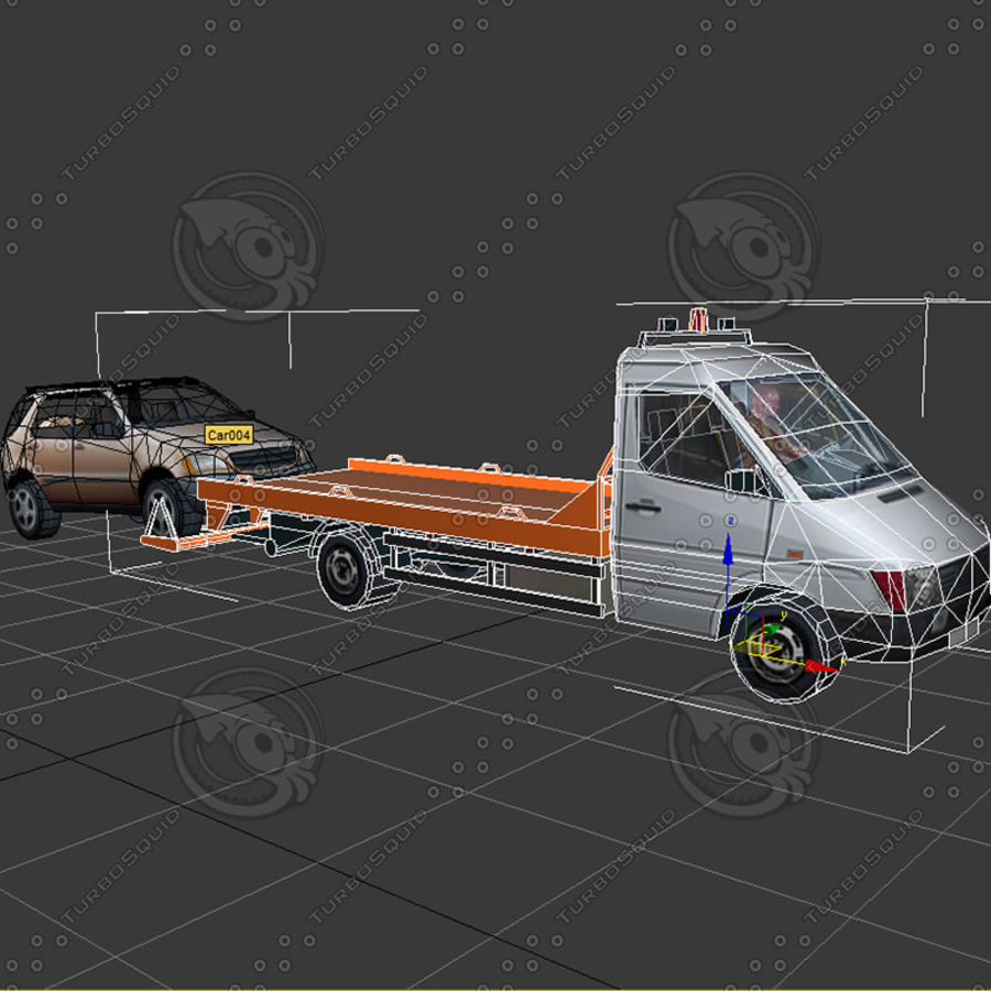 Car_Environment05 royalty-free 3d model - Preview no. 23