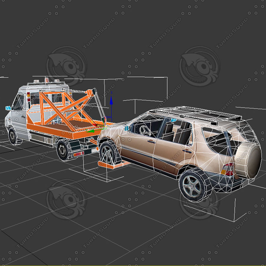 Car_Environment05 royalty-free 3d model - Preview no. 17
