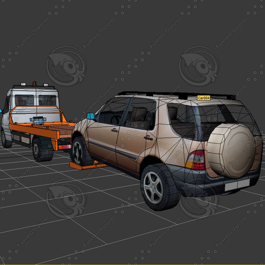 Car_Environment05 royalty-free 3d model - Preview no. 25