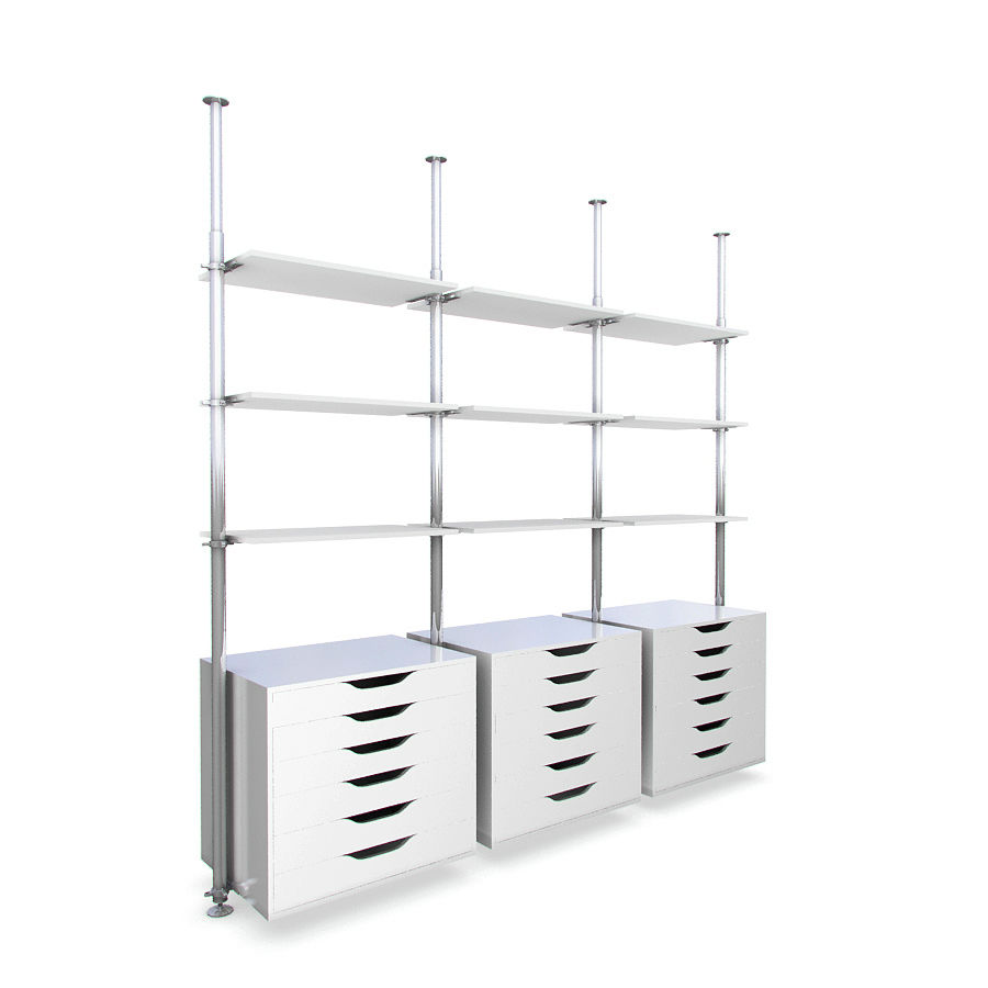 meble IKEA royalty-free 3d model - Preview no. 1