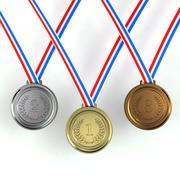 Medallas modelo 3d