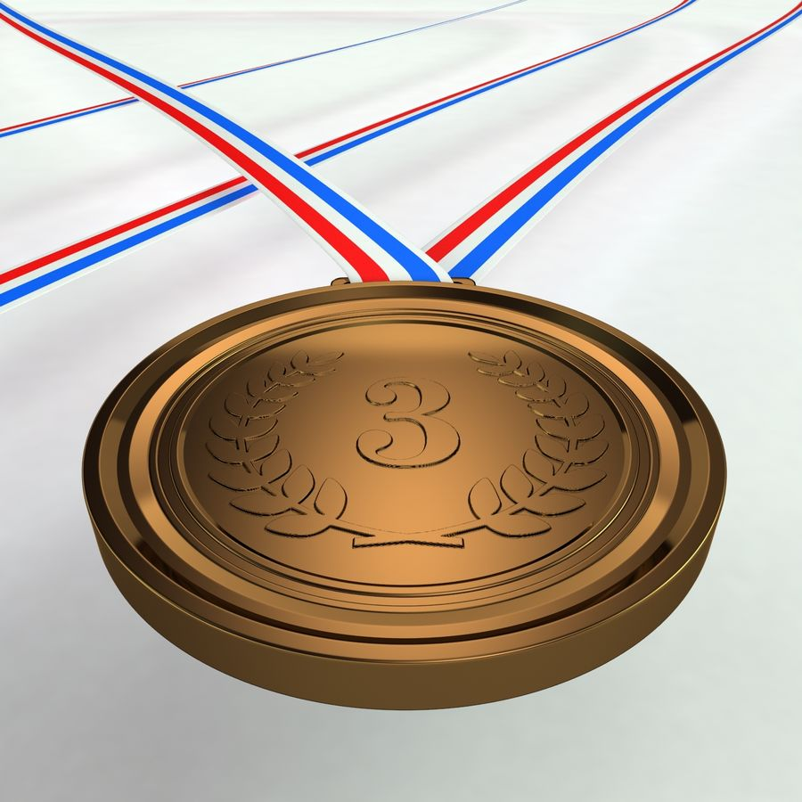 Medals royalty-free 3d model - Preview no. 8