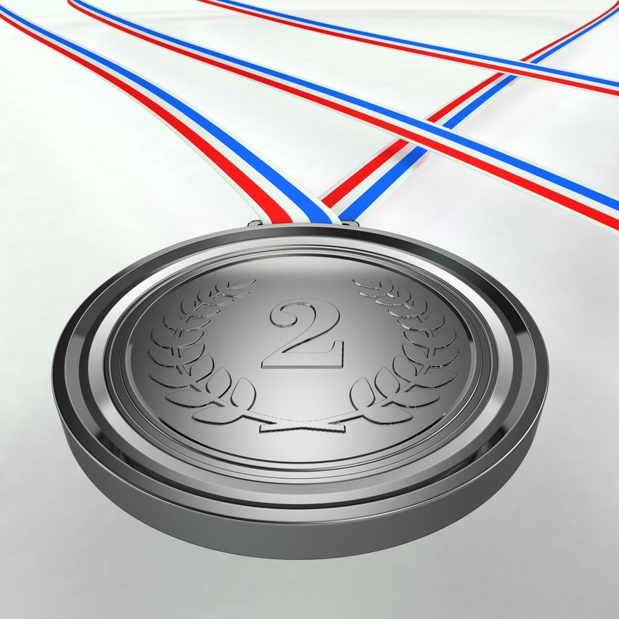 Medals royalty-free 3d model - Preview no. 7