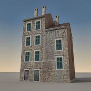 Italiaans gebouw 010 3d model
