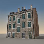 Edifício Italiano 004 3d model