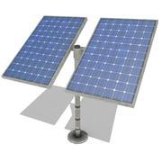 Солнечная панель 2 3d model