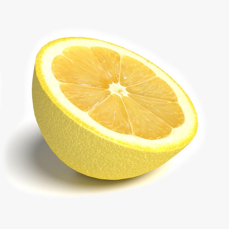 Lemon Half royalty-free 3d model - Preview no. 1