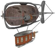 Steampunk Blimp 3d model