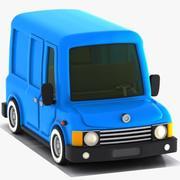 Cartoon Van 1 3d model