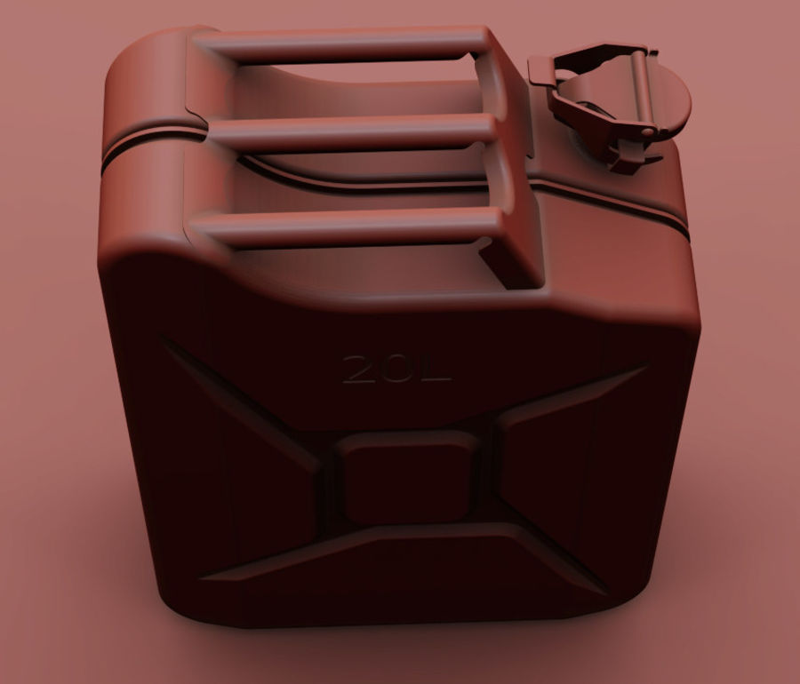Jerry Can royalty-free 3d model - Preview no. 3