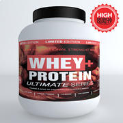 Protein Whey Pot 3d model