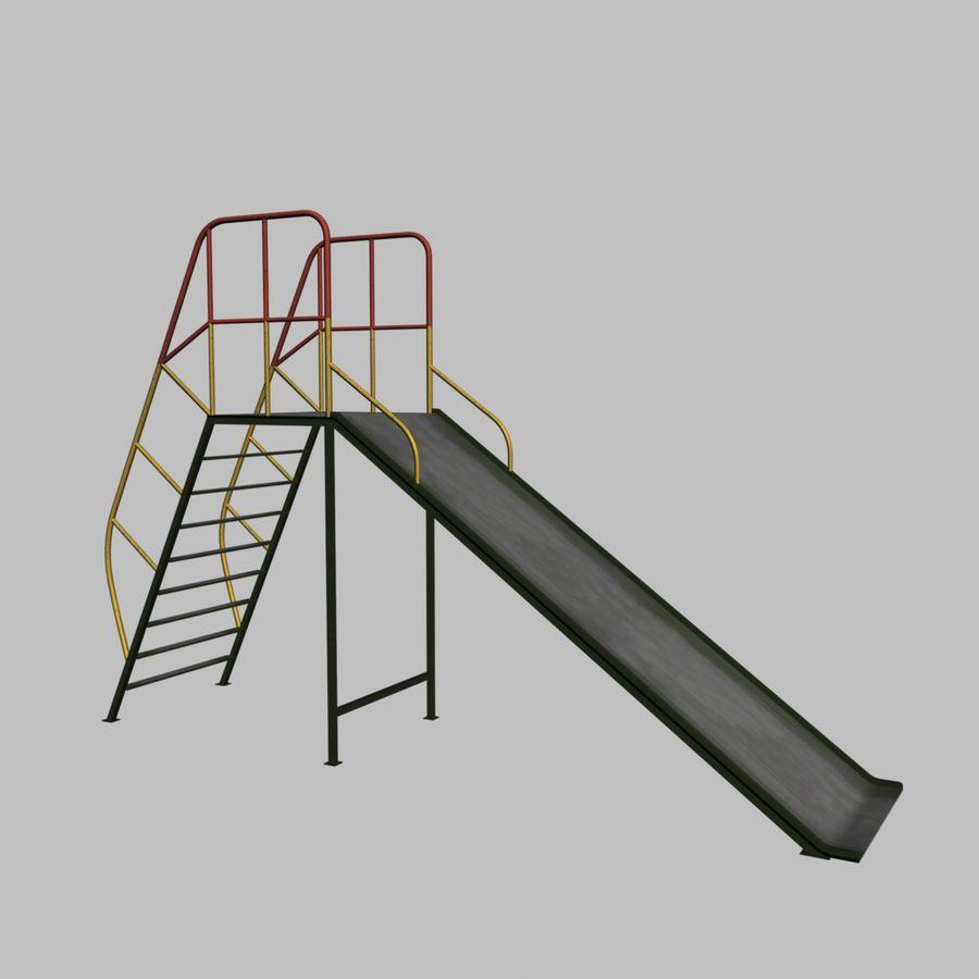 Kinderglijbaan royalty-free 3d model - Preview no. 1
