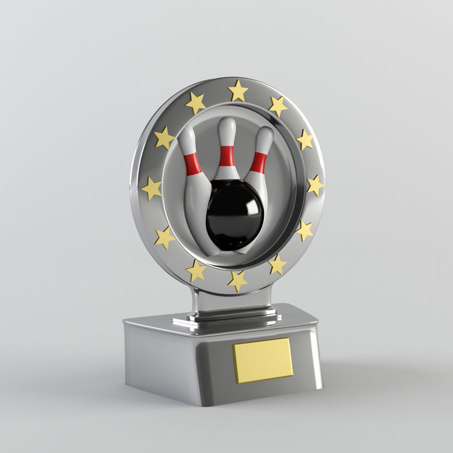 Trophy - Award Cup royalty-free 3d model - Preview no. 1
