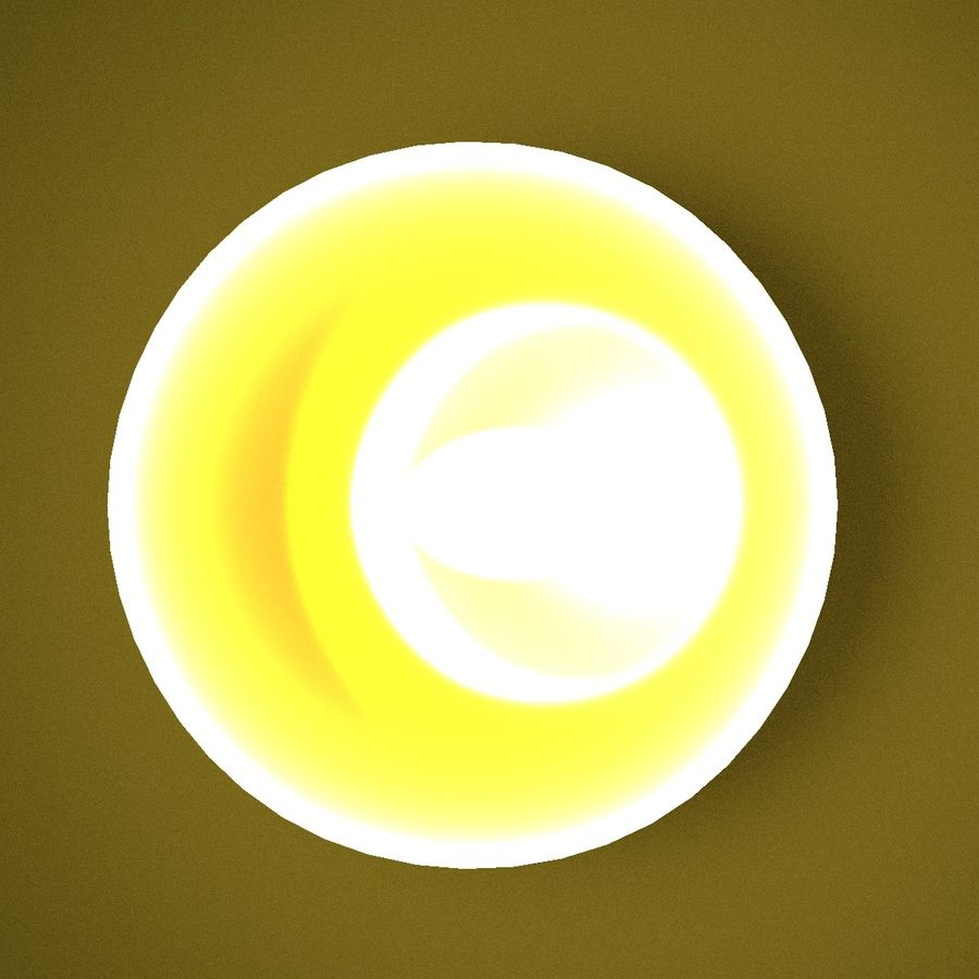 Лампа в royalty-free 3d model - Preview no. 5