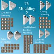 75 Moulding Pack 2 3d model